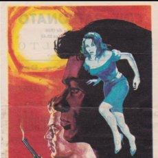 Cine: PROGRAMA DE CINE - PERSECUCIÓN IMPLACABLE - DIRK BOGARDE - CINE PATRONATO - 1966. Lote 168753724