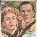 Cine: PROGRAMA DE CINE - DUELO EN LA JUNGLA - DANA ANDREWS, JEANNE CRAIN - CINE DUQUE (MÁLAGA) 1959.. Lote 168774712