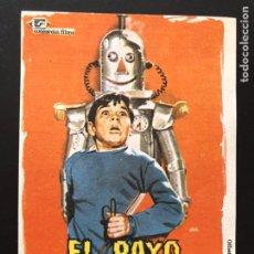 Cine: PROGRAMA EL RAYO DESINTEGRADOR.PETER SOLIS. Lote 168818930