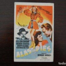 Cine: ALAS EN LOS PIES, CINEMA IMPERIAL.. Lote 168865288