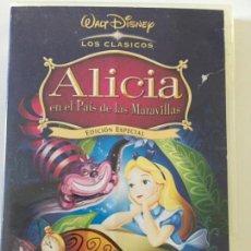Cine: ALICIA EN EL PAÍS DE LAS MARAVILLAS - WALT DISNEY. Lote 168923208