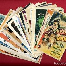Cine: LOTE DE 114 PROGRAMAS DE CINE EN BUEN ESTADO , ORIGINALES , A. Lote 168939352