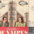 Cine: PROGRAMA DOBLE - CASTILLO DE NAIPES - BLANCA DE SILOS - CINE CAPITOL, DUQUE Y PLUS ULTRA (MÁLAGA). Lote 169068344