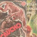 Cine: PROGRAMA DOBLE - CAUCHO - RENÉ DELTGEN, VERA V. LANGEN - UFA - CINE GOYA - 1941.. Lote 169069336