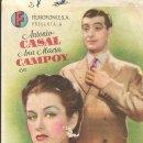 Cine: PROGRAMA DE CINE - CINCO LOBITOS - ANTONIO CASAL, ANA MARÍA CAMPOY - CINE ALKAZAR (MÁLAGA) - 1945.. Lote 169072996