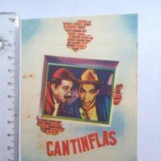 Cine: PROGRAMA SENCILLO CANTINFLAS AHÍ ESTÁ EL DETALLE CINE VERSALLES (28P). Lote 169199460