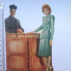 Cine: PROGRAMA DOBLE TROQUELADO Y AMANECIÓ SIN PUBLICIDAD(33P). Lote 169209200