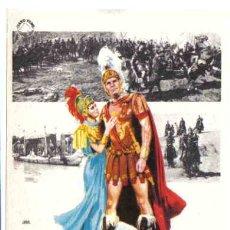 Flyers Publicitaires de films Anciens: MARCO ANTONIO Y CLEOPATRA , SENCILLO , ORIGINAL , SIN CINE , PMD 94. Lote 169228937