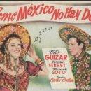 Cine: PROGRAMA DE CINE - COMO MÉXICO NO HAY DOS - TITO GUIZAR - CINE CAPITOL, DUQUE Y PLUS ULTRA (MÁLAGA) . Lote 169262444