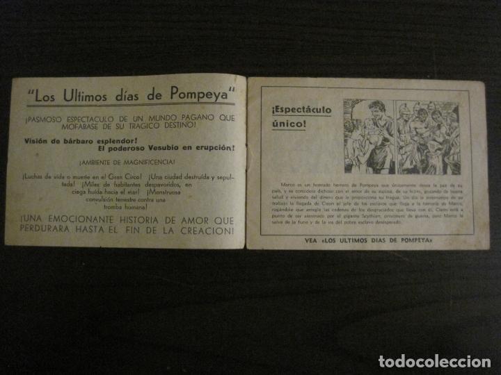 Cine: LOS ULTIMOS DIAS DE POMPEYA-PROGRAMA DE CINE LIBRITO-RADIO FILMS-VER FOTOS-(C-4300) - Foto 2 - 169333728