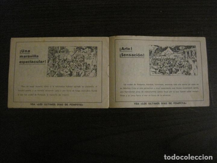 Cine: LOS ULTIMOS DIAS DE POMPEYA-PROGRAMA DE CINE LIBRITO-RADIO FILMS-VER FOTOS-(C-4300) - Foto 7 - 169333728
