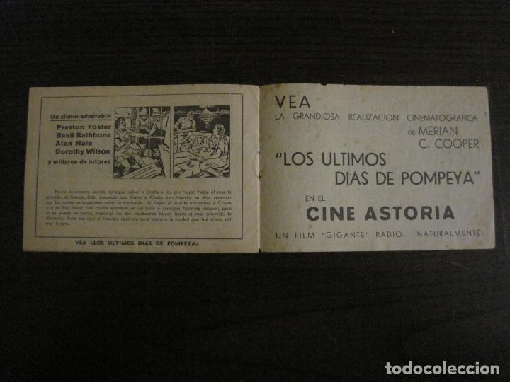 Cine: LOS ULTIMOS DIAS DE POMPEYA-PROGRAMA DE CINE LIBRITO-RADIO FILMS-VER FOTOS-(C-4300) - Foto 8 - 169333728