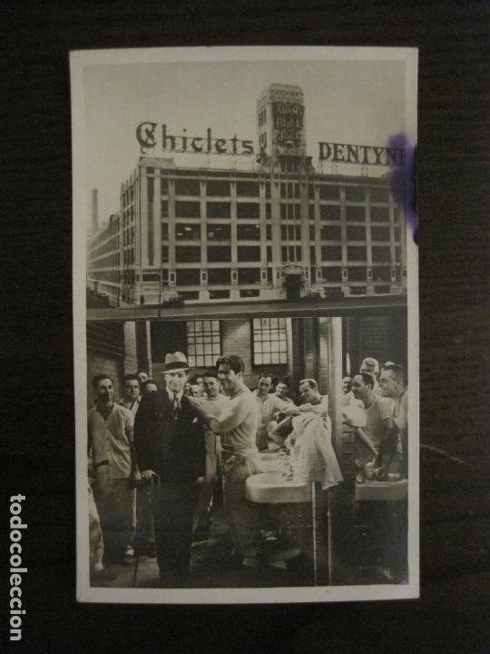 EL GRAN CHARCO- FABRICA CHICLETS ADAMS-PROGRAMA DE CINE-MAURICE CHEVALIER-VER FOTOS-(C-4301) (Cine - Folletos de Mano - Aventura)