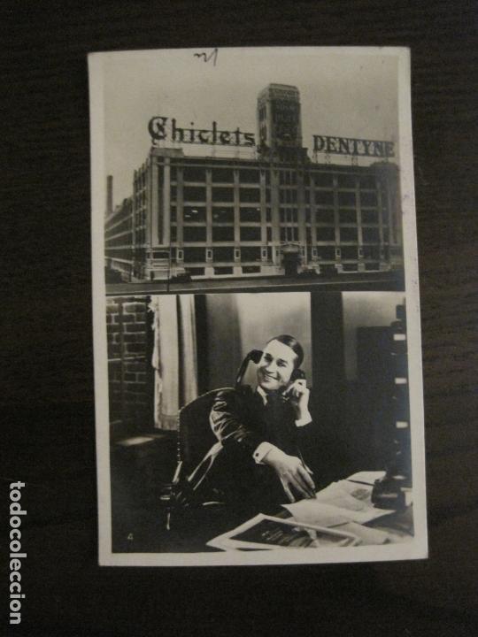 EL GRAN CHARCO-FABRICA CHICLETS ADAMS-PROGRAMA DE CINE-MAURICE CHEVALIER-VER FOTOS-(C-4308) (Cine - Folletos de Mano - Aventura)