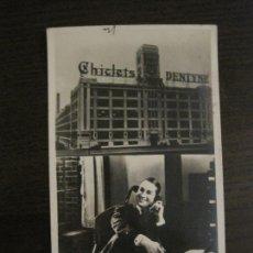 Cine: EL GRAN CHARCO-FABRICA CHICLETS ADAMS-PROGRAMA DE CINE-MAURICE CHEVALIER-VER FOTOS-(C-4308). Lote 169334660