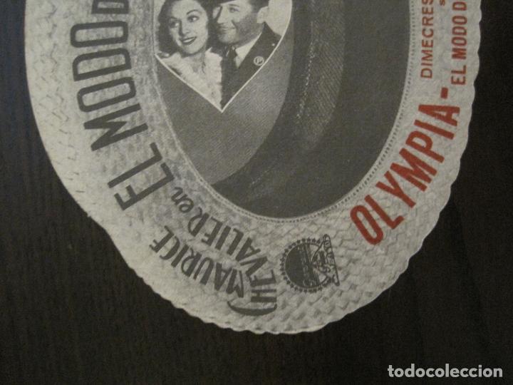 Cine: EL MODO DE AMAR-PROGAMA DE CINE TROQUELADO EN FORMA DE SOMBRERO-VER FOTOS-(C-4311) - Foto 4 - 169335860