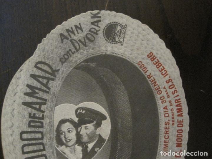 Cine: EL MODO DE AMAR-PROGAMA DE CINE TROQUELADO EN FORMA DE SOMBRERO-VER FOTOS-(C-4311) - Foto 5 - 169335860