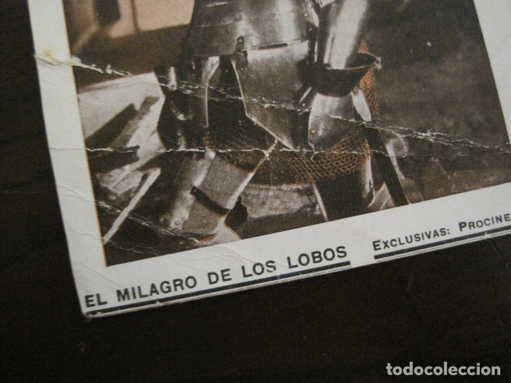 Cine: EL MILAGRO DE LOS LOBOS-PROGRAMA DE CINE-VER FOTOS-(C-4313) - Foto 4 - 169336712