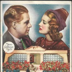 Cine: PROGRAMA DE CINE - ENAMORADOS - JEANETTE MACDONALD, NELSON EDDY - MGM - CINE ESPAÑA (LUCENA) - 1946. Lote 169449004