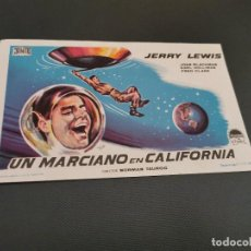 Cine: PROGRAMA DE MANO ORIG - UN MARCIANO EN CALIFORNIA- SIN CINE . Lote 169453388