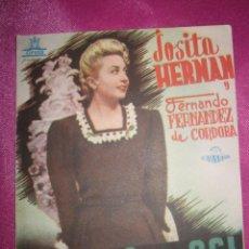 Cine: ANGELA ES ASI JOSITA HERNAN PROGRAMA DE CINE DOBLE. Lote 169468724