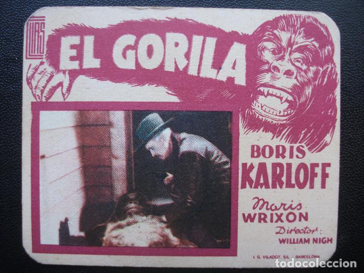 EL GORILA, BORIS KARLOFF (Cine - Folletos de Mano - Terror)