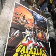 Cine: GALAXIAS AÑO 2000 JUN FUKUDA TOHO POSTER ORIGINAL 70X100. Lote 169762612
