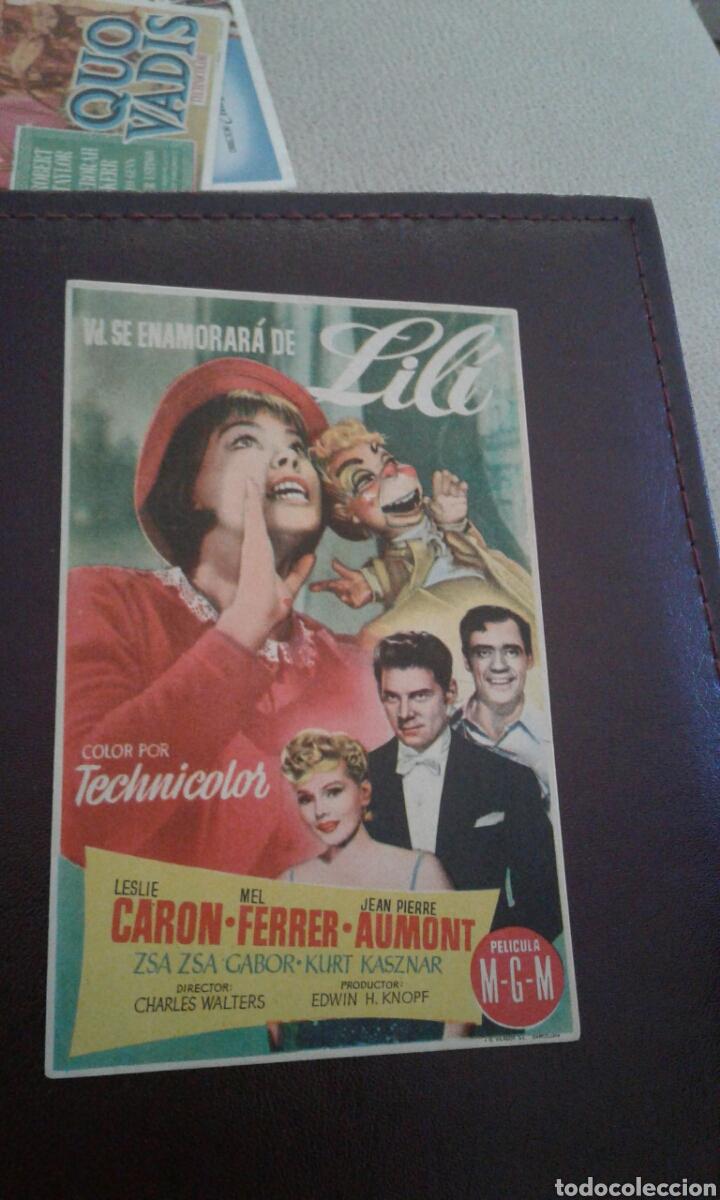 LILI IDEAL CINEMA (Cine - Folletos de Mano - Comedia)