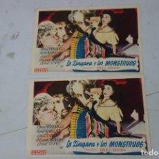 Cine: LOTE DE DOS PROSPECTO DE CINE DE LOS AÑOS 40. Lote 170206008