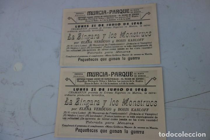 Cine: LOTE DE DOS PROSPECTO DE CINE DE LOS AÑOS 40 - Foto 2 - 170206008