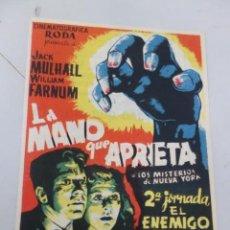 Cine: PROSPECTO DE CINE DE LOS AÑOS 40. Lote 170210416