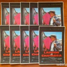 Cine: 10 PROGRAMAS DE CINE, LADRON DE CHATARRA, SIN PUBLICIDAD. Lote 170217160