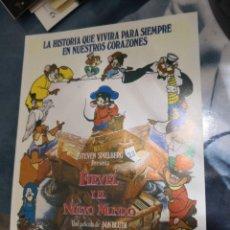 Cine: FIEVEL Y EL NUEVO MUNDO, FOLLETO DE 1986. Lote 170284380