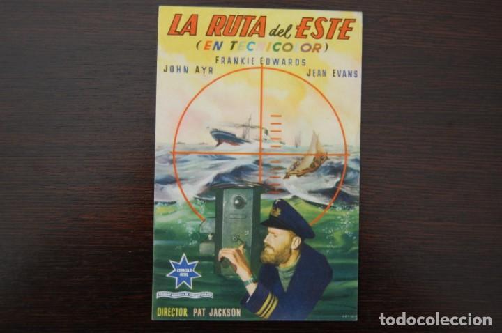 LA RUTA DEL ESTE (Cine - Folletos de Mano - Bélicas)