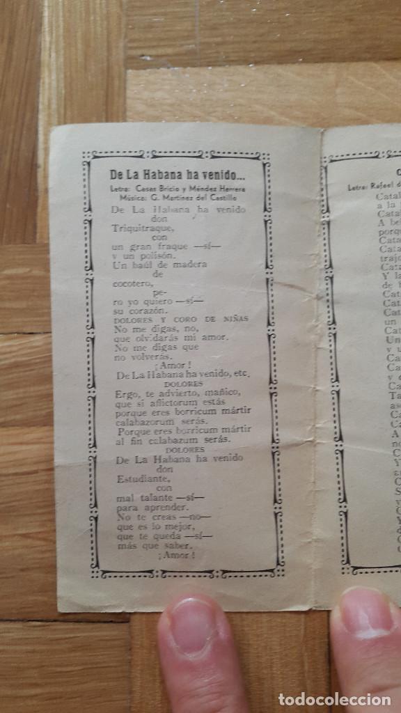 Cine: Programa de Cine Doble / Cancionero - La Dolores - Florian Rey / Conchita Piquer - CIFESA, 1940 - - Foto 4 - 170357060
