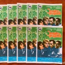 Cine: 10 PROGRAMAS DE CINE, LA MUJER DE TU PRÓJIMO, SIN PUBLICIDAD. Lote 170427500