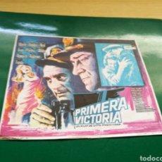 Flyers Publicitaires de films Anciens: PROGRAMA DE CINE. PRIMERA VICTORIA. Lote 170543521