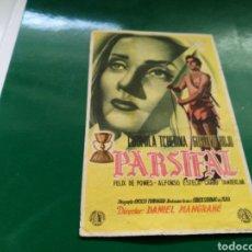 Cine: PROGRAMA DE CINE. PARSIFAL, CON PUBLICIDAD DE LOS CINES BOHEMIO Y GALILEO DE BARCELONA. Lote 170544620