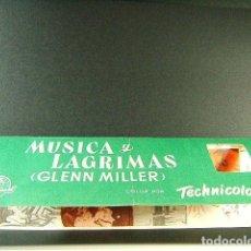 Cine: MUSICA Y LAGRIMAS-GLENN MILLER-ANTHONY MANN-JAMES STEWART-JUNE ALLYSON-CINES OLIMPIA Y MUNDIAL-1954.. Lote 170836170