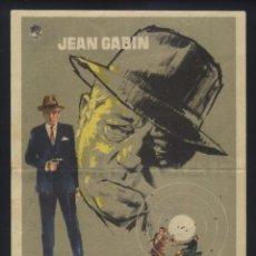Cine: P-8032- MAIGRET, TERROR DEL HAMPA (MAIGRET VOIT ROUGE) (CINE HERNAN CORTES- GIJON) JEAN GABIN. Lote 170863225
