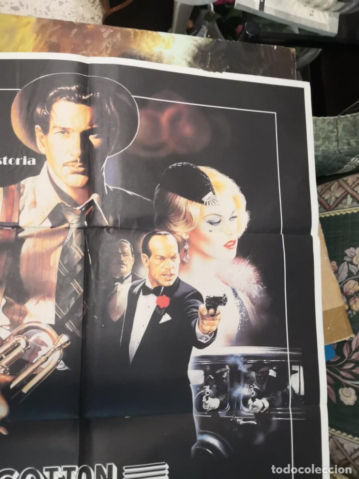 Cine: 2 poster cartel de cine orifinales. COTTON CLUB Y COTO DE CAZA - Foto 4 - 170911460