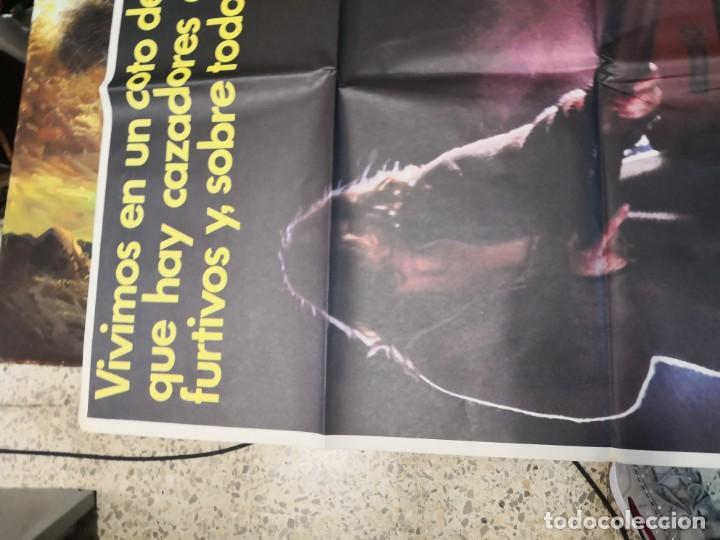 Cine: 2 poster cartel de cine orifinales. COTTON CLUB Y COTO DE CAZA - Foto 9 - 170911460