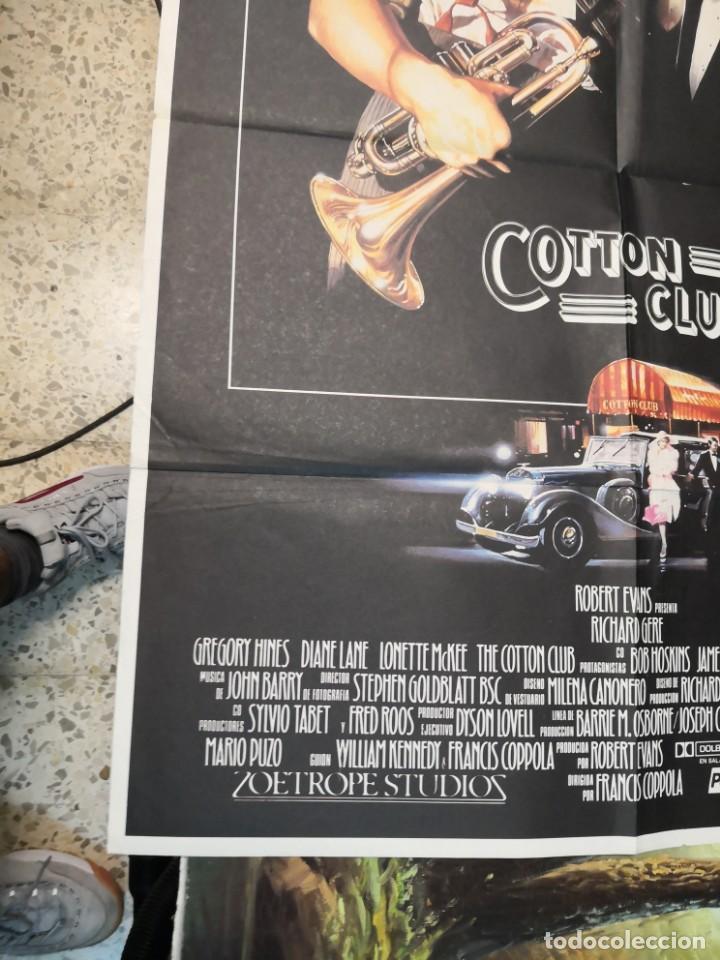 Cine: 2 poster cartel de cine orifinales. COTTON CLUB Y COTO DE CAZA - Foto 11 - 170911460