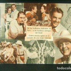 Cine: NOCHES EN RIO-JOHN BRAHM-BASIL RATHBONE-ROBERT CUMMINGS-SIGFRID CURIE-CINE ORIENTE-GERONA-1944.. Lote 170967005