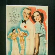 Cine: LA NUEVA MELODIA DE BROADWAY-NORMAN TAUROG-FRED ASTAIRE-ELANOR POWELL-CINE MUNDIAL-1944. . Lote 170978288