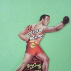 Cine: EL COLOSO DE BOSTON, CON BING CROSBY. PROGRAMA DE MANO TROQUELADO.. Lote 170979202