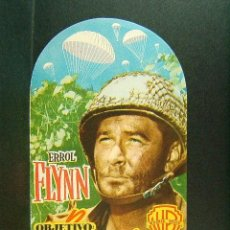 Cine: OBJETIVO : BIRMANIA-RAOUL WALSH-ERROL FLYNN-WILLIAM PRINCE-JAMES BROWN-AÑOS 50. . Lote 171025800