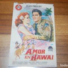 Cine: AMOR EN HAWAI (1964).CINEMA RIO Y TEATRO FERRE. Lote 171047922