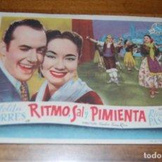 Cine: RITMO, SAL Y PIMIENTA.. Lote 171050777