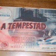 Cine: LA TEMPESTAD. CINE MONUMENTAL. Lote 171051982